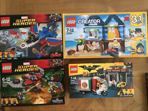 Brand New Lego 76076、76079、70900、31063 Ryde Ryde Area Preview