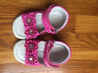 Naturino Falcotto Baby Toddler Girls Shoes Sandals Pink Size 6-6.5/22 Adjustable Naturino Pink Sandals