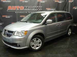 2017 Dodge Grand Caravan Crew Plus w/Leather!