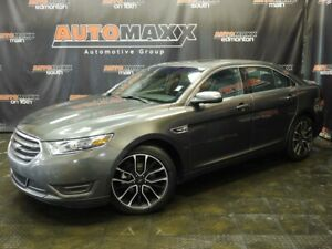 2018 Ford Taurus Limited AWD! Leather-Roof-Nav!