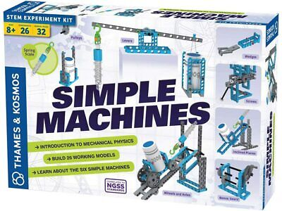 Simple Machines (Thames & Kosmos, Stem Experiment Kit, 8+, 26 Experiments)