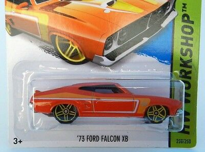2014 Hot Wheels Orange /'73 Ford Falcon XB Classic Antique 238//250