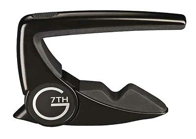 G7th Perfomance 2 Capo Acoustic / Electric Guitar - Black 2797B