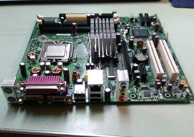 MOTHERBOARD SOCKET 775 PIN MOTHERBOARD AA D97184-106 D945GCNL CPU SLABY