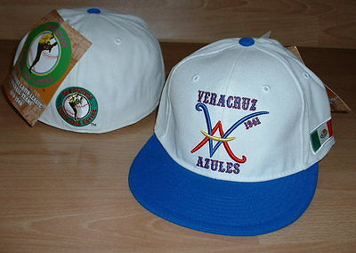 a08d92bca19 VERACRUZ AZULES MEXICAN LEAGUE HAT CAP FITTED MENS SIZE 7 1 2 - LATIN  COLLECTION