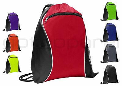 Cinch Sack Backpack (String Drawstring Backpack Cinch Sack Gym Tote Bag School Sport Pack.)