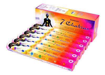 Ароматизированные палочки, благовони 7 chakras -