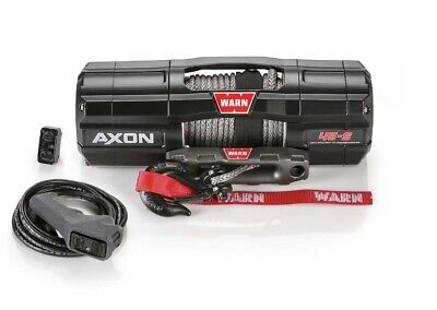 NEW WARN AXON 4500LB WINCH AXON-45-S SYNTHETIC ROPE WINCH FOR UTV'S 101140