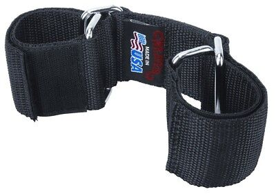 Weaver Goat Hobbles 2 Wide Webbing With 3 12 Strap Black One Size