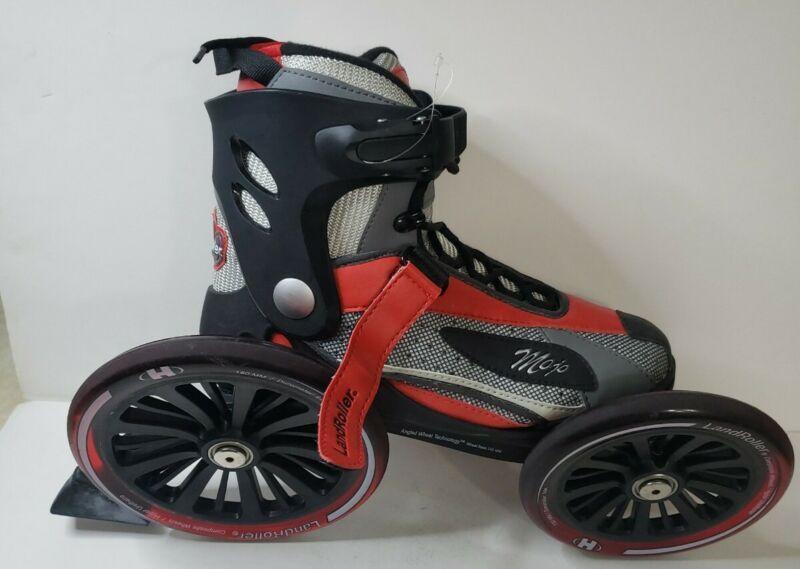 MOJO LANDROLLER Mens 6/Womens 7-Angled Wheel Inline Skates-Excellent!