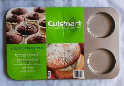 Cuisinart AMB-6MTPCH Chef's Classic Nonstick 6-Cup Muffin-Top Pan Cuisinart Muffin Pan