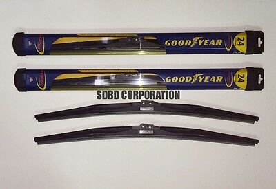 2011-2014 Volkswagen Touareg Goodyear Hybrid Style Wiper Blade Set of 2