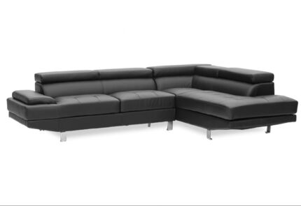 Milano 5 Seater Corner Sofa with Chaise (Brand New) | Sofas ...