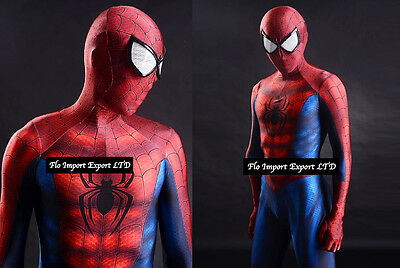 Amazing Spiderman Karnevalskostüme Dress up Cosplay Kostüm SPM001