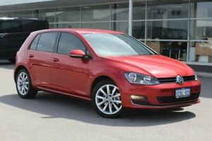 2015 Volkswagen Golf VII MY15 103TSI DSG Highline Red 7 Speed Sports Automatic Dual Clutch Hatchback Osborne Park Stirling Area Preview