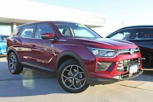 2020 Ssangyong Korando C300 MY20 ELX 2WD Red 6 Speed Sports Automatic Wagon