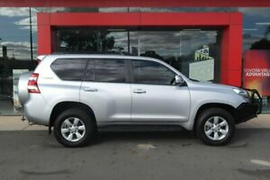 2014 Toyota Landcruiser Prado KDJ150R MY14 GXL (4x4) Silver Pearl 5 Speed Sequential Auto Wagon Swan Hill Swan Hill Area Preview