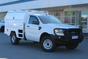 2015 Ford Ranger PX MkII XL White 6 Speed Sports Automatic Cab Chassis