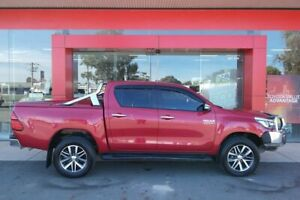 2016 Toyota Hilux GUN126R SR5 (4x4) Olympia Red 6 Speed Automatic Dual Cab Utility Swan Hill Swan Hill Area Preview