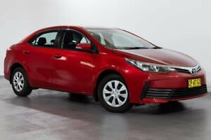 2018 Toyota Corolla ZRE172R Ascent S-CVT Red 7 Speed Constant Variable Sedan