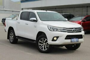 2015 Toyota Hilux GUN126R SR5 Double Cab White 6 Speed Sports Automatic Utility Osborne Park Stirling Area Preview
