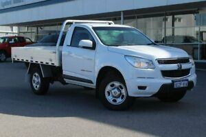 2013 Holden Colorado RG MY13 LX White 6 Speed Sports Automatic Cab Chassis