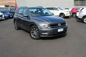 2016 Volkswagen Tiguan 5N MY17 110TSI DSG 2WD Trendline Grey 6 Speed Sports Automatic Dual Clutch Glebe Hobart City Preview