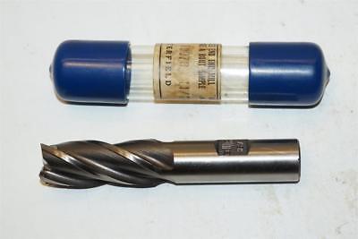 "New Butterfield Canadian Made 11//16/"" No43 HSS 4 Flute End mill 5//8/"" shank."