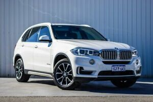 2016 BMW X5 F15 xDrive30d White 8 Speed Sports Automatic Wagon Canning Vale Canning Area Preview
