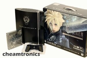 NEW-Cloud-Black-Sony-Playstation-3-Final-Fantasy-Advent-Children-Complete-160GB