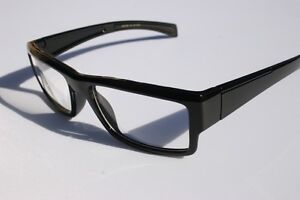 Black-RECTANGLE-SMART-NERD-LOOKING-GLASSES-Fashion-Eyewear-P1920