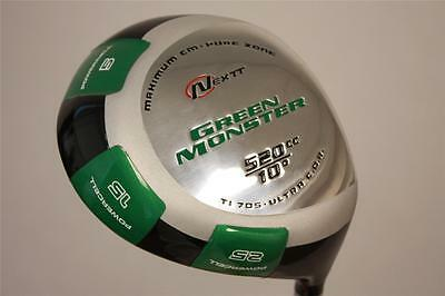 GREEN MONSTER DRIVER NEW STIFF S PGA TOUR ILLEGAL 520 CC MENS GOLF CLUBS #9000