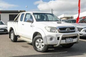2008 Toyota Hilux KUN26R MY08 SR5 White 5 Speed Manual Utility Dandenong Greater Dandenong Preview