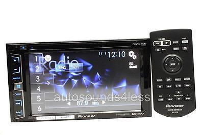 "Pioneer Double Din AVH-X1700S DVD/MP3/CD Player 6.2"" Touchscreen Pandora Control on Rummage"