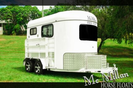 McMillan 2 Horse Angle Float Mansfield Brisbane South East Preview