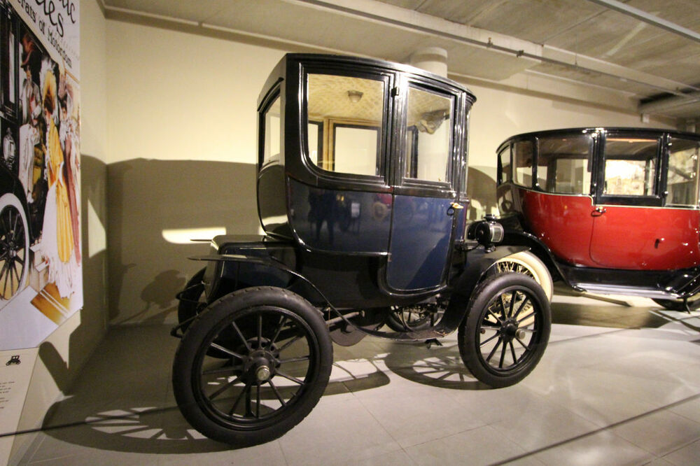 Baker Electric Coupe 1912