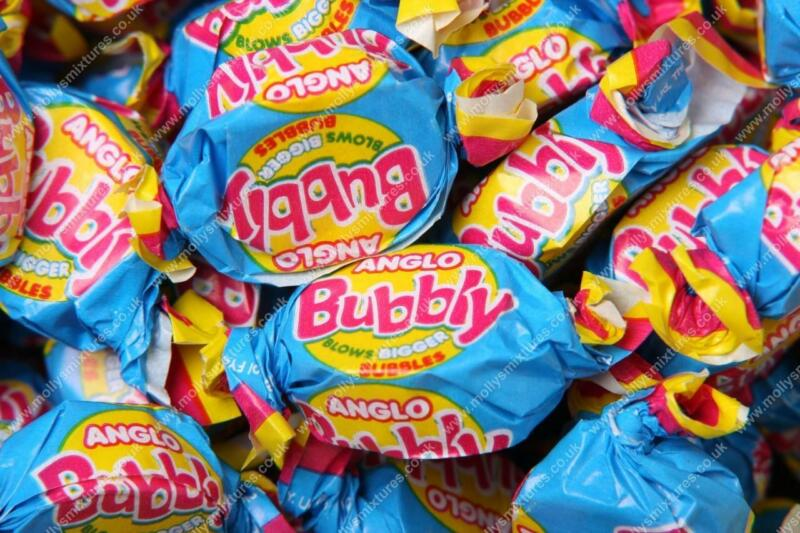 240 ANGLO BUBBLY - Full Box Of Bubble Gum