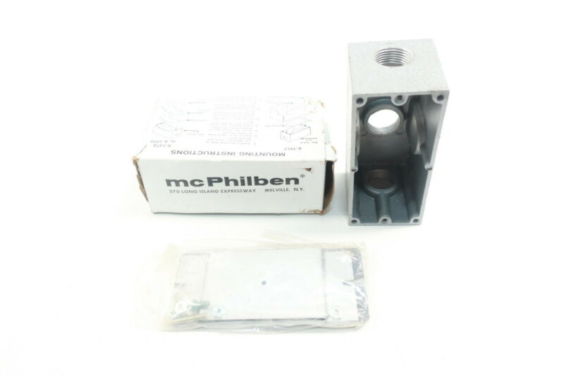 Mcphilben K-1917 Aluminum External Splice Compartment 3/4in