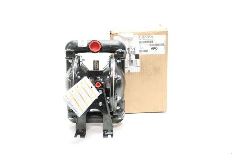 Aro Ingersoll Rand 666112-3EB-C Metal Diaphragm Pump 1in
