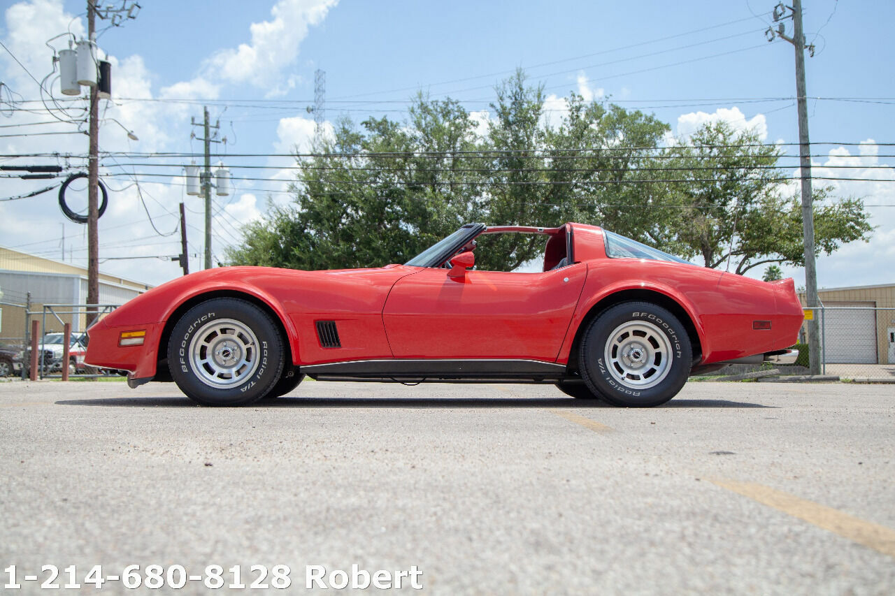 1980 Red Chevrolet Corvette   | C3 Corvette Photo 9