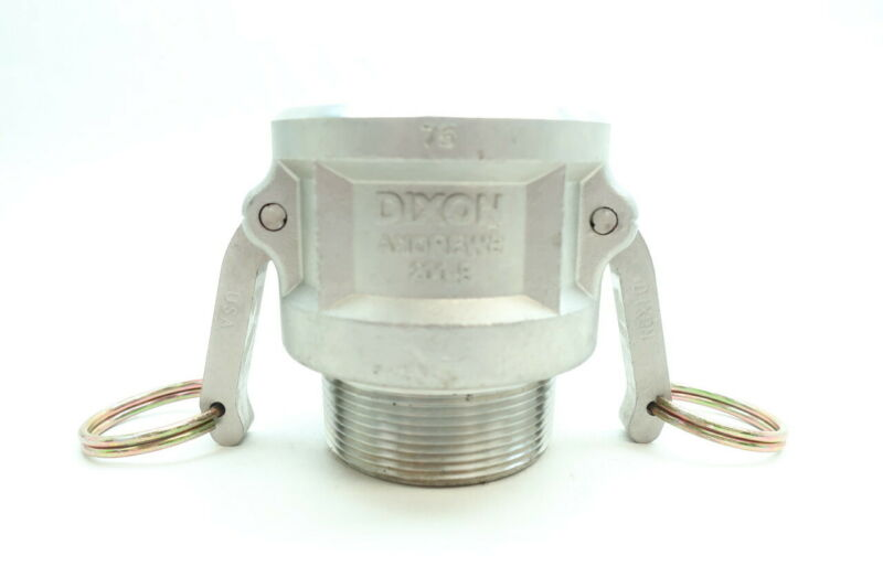 Dixon 200-B Andrews Stainless Cam & Groove Coupling 2in
