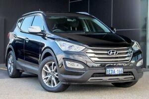 2012 Hyundai Santa Fe DM MY13 Elite Black 6 Speed Sports Automatic Wagon Wangara Wanneroo Area Preview