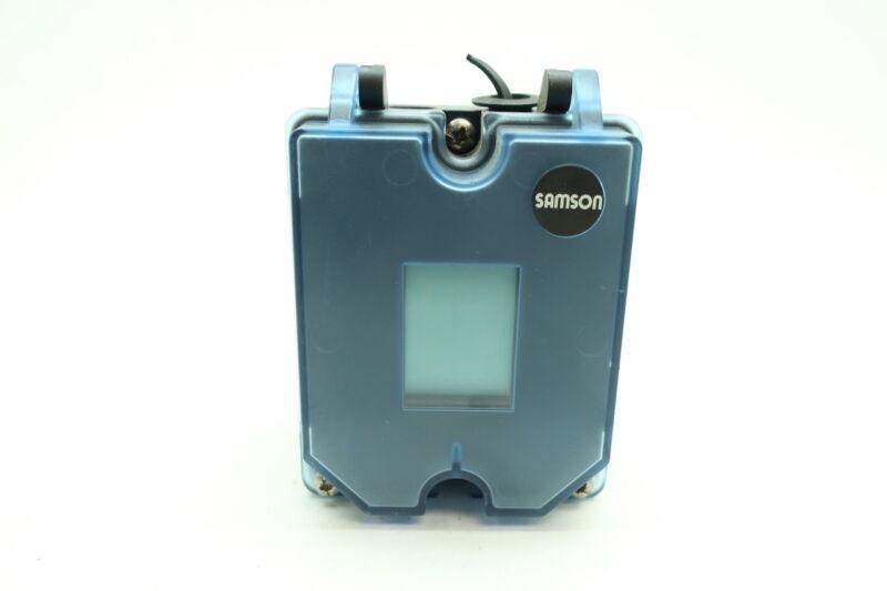 Samson 3725 Electro-pneumatic Valve Positioner
