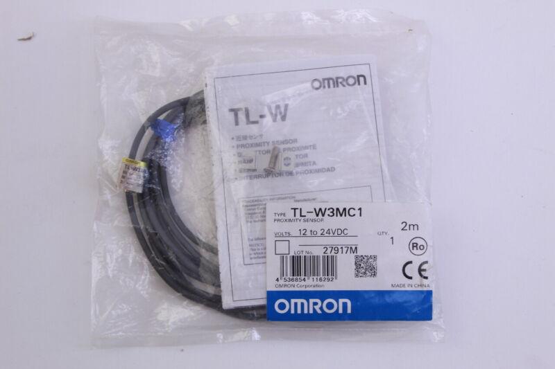 Omron TL-W3MC1 Proximity Sensor (12-24vdc) New In Bag