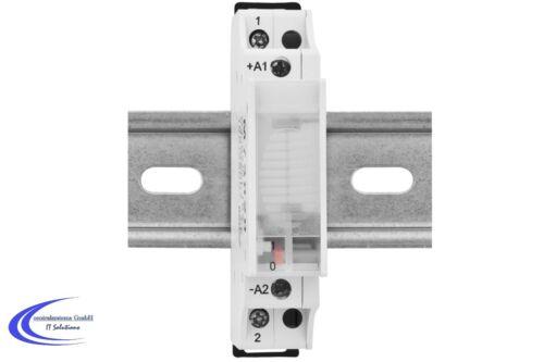 Stromstoßschalter M73020 230V / 16A - Fernschalter Relais für Hutschiene
