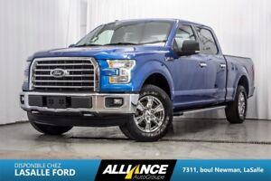 2015 Ford F-150 XLT   SUPERCREW   4X4   GPS   CAMERA   NEVER ACC
