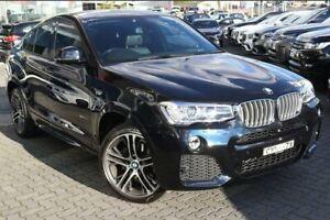 2014 BMW X4 F26 xDrive35i Coupe Steptronic Black 8 Speed Automatic Wagon
