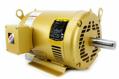 10 Hp 3 Ph Three Phase Electric Motor Em3313t Baldor 1770 Rpm 215t Frame New