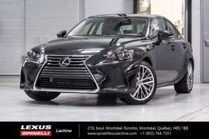 2017 Lexus IS 300 PREMIUM AWD; LSS+ TOIT CAMERA CUIR NEW DEMO W/