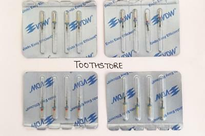 Vdw Mtwo Niti Files - 25 Mm Length Pack Of 4 Files